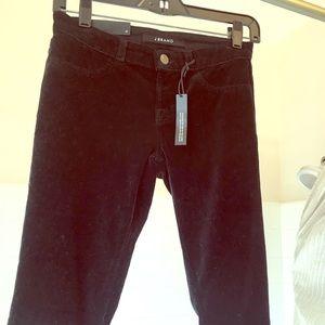 JBrand Velvet Skinny Jeans - Black Sz 25